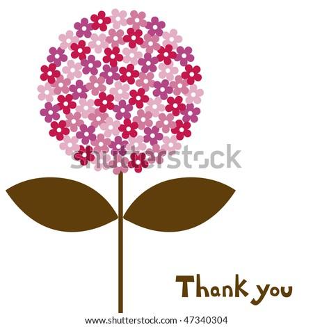 flower vector illustration - stock vector