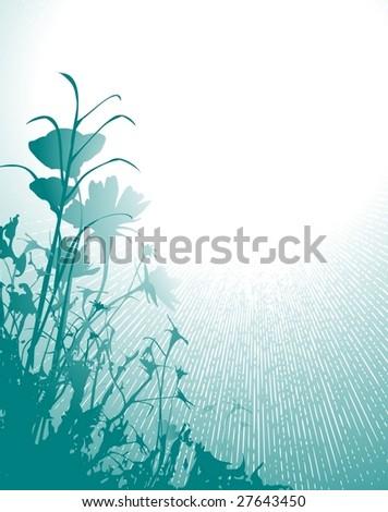 flowers 4 - stock vector