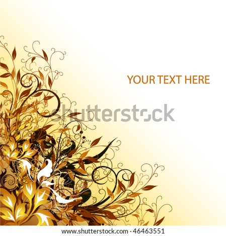 flowers vector cover