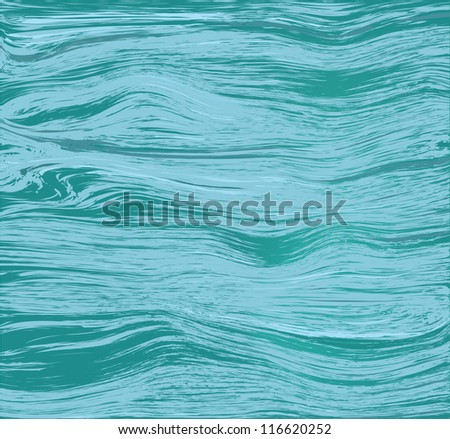 Flowing water surface.Sea,lake, river. - stock vector