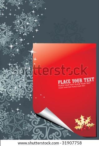 Flyer / Invitation - stock vector