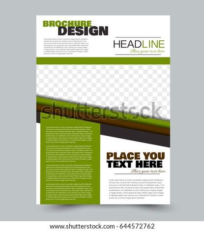 Vector Real Estate Agent Flyer Poster Vector 157319783 – Green Flyer Template