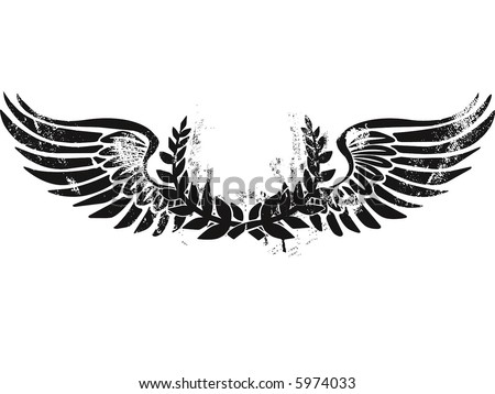 flying elements - stock vector