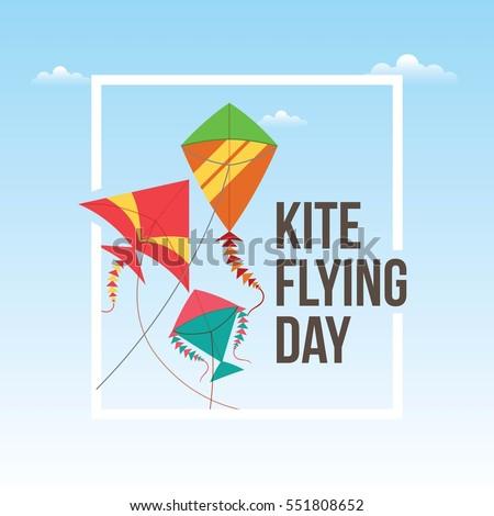 flying kite illustration - photo #32