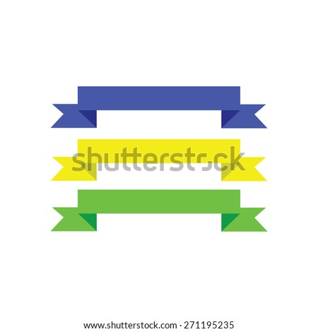 folded banner stock vector 271195235 shutterstock