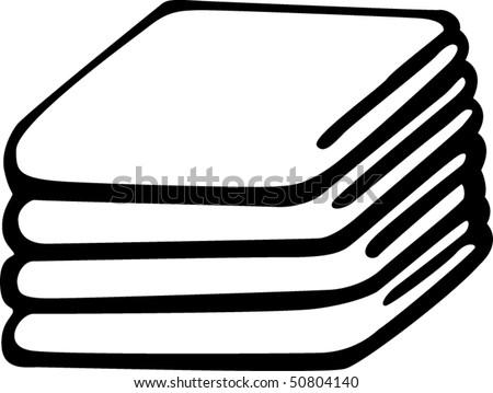 blanket clipart black and white. folded bedding blankets blanket clipart black and white n