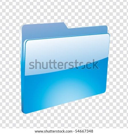 folder - stock vector