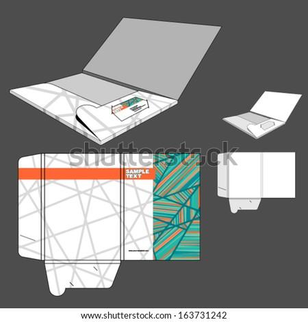 Folder design. - stock vector
