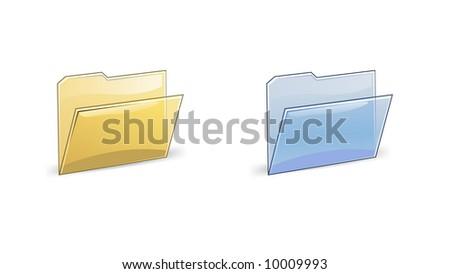 folder vector illustration - stock vector