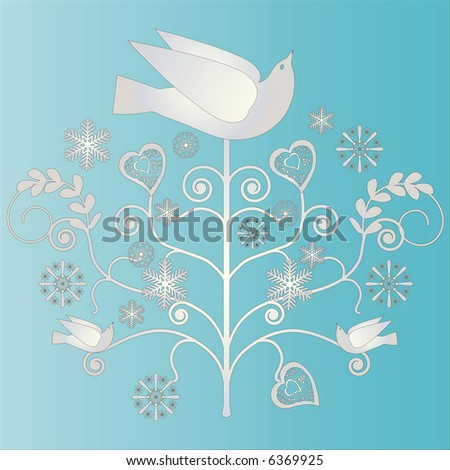 folk art - stock vector