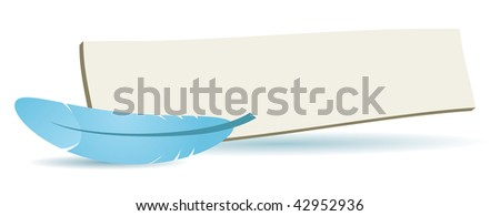 follow me board for your web or blog site - stock vector