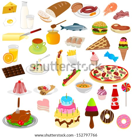 Food - stock vector