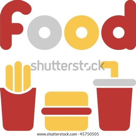 food - stock vector
