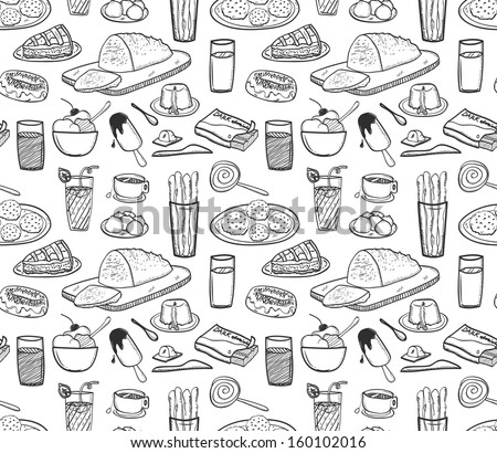 food and drink background