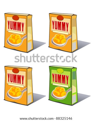 Food Carton - stock vector