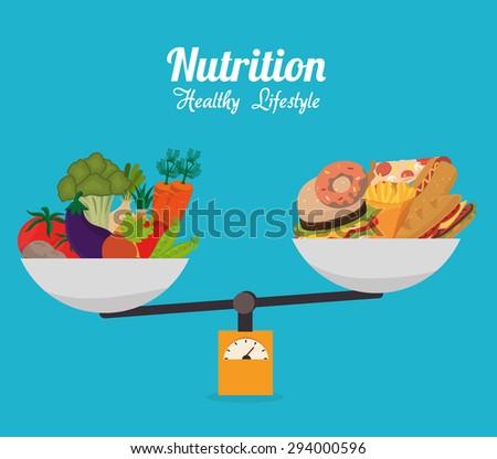 Food design, vector illustration eps 10. - stock vector