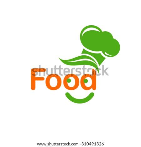 Food logo  - stock vector