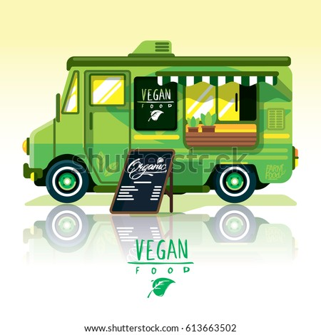 Food Truck Fast Deliveryvegan