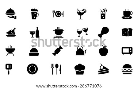 Food Vector Icons 1
