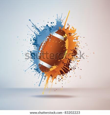 Football Ball - stock vector
