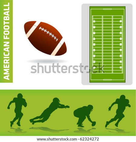 football design elements - stock vector