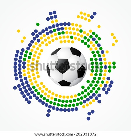 football design vector background art - stock vector