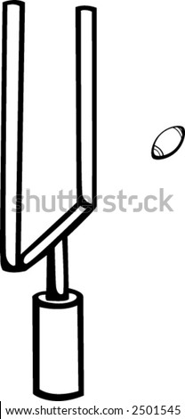 football field goal stock photo photo vector illustration rh shutterstock com football field goal clipart field hockey goal clipart