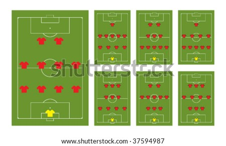 Football Formation Stock Images, Royalty-Free Images & Vectors ...