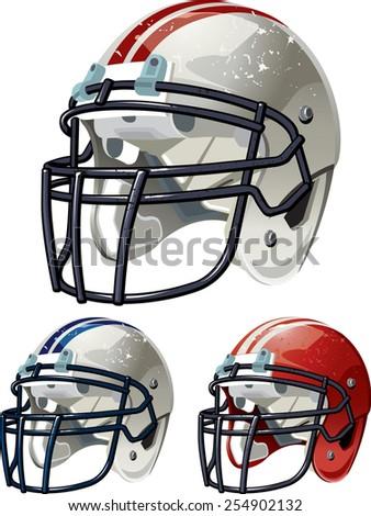 Football Helmet - stock vector