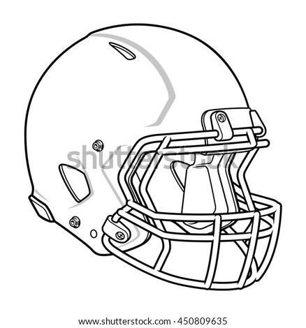 Football Helmet Stock Vector 450809635 Shutterstock
