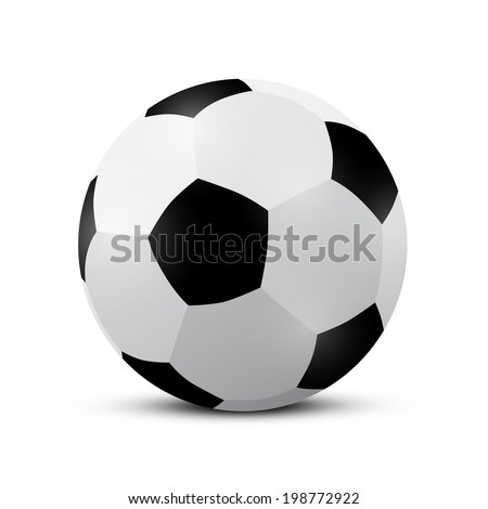 Football - Soccer Ball Vector Illustration