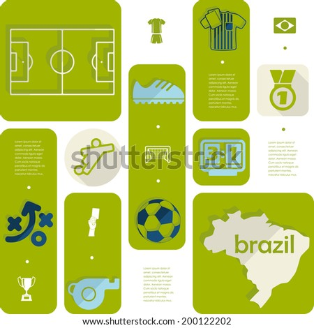 Infographic Ideas infographic soccer : Football Soccer Infographic Stock Vector 202516471 - Shutterstock