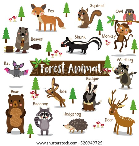 Mythical Woodland Creature  Letters