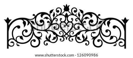 forging - stock vector