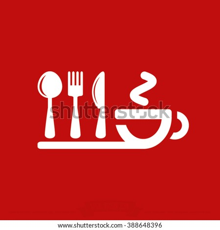 fork spoon knife cup icon, fork spoon knife cup icon eps10, fork spoon knife cup icon vector, fork spoon knife cup icon eps, fork spoon knife cup icon flat, fork spoon knife cup icon - stock vector