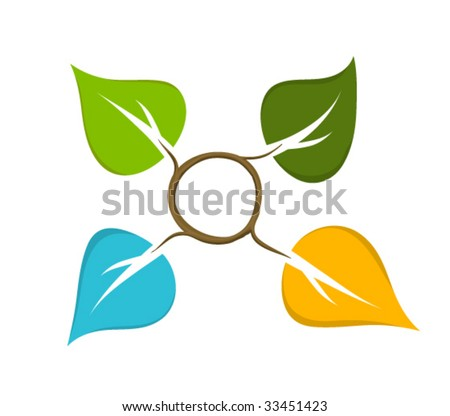 Four Seasons Symbol Stock Vector Royalty Free 33451423 Shutterstock