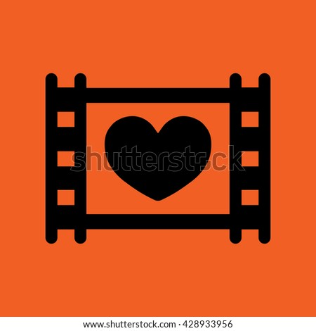 frame cinema photo video camera icon  - stock vector