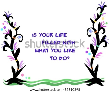 Frame of Life Message Vector