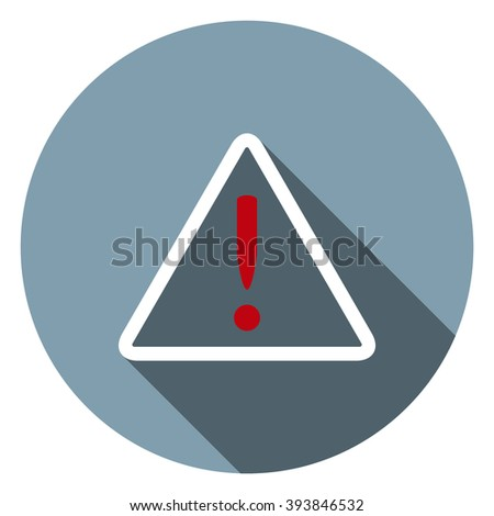Frame warnings, important information security. icon. vector design - stock vector