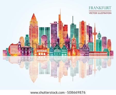 Frankfurt germany stock images royalty free images for Grafik design ausbildung frankfurt