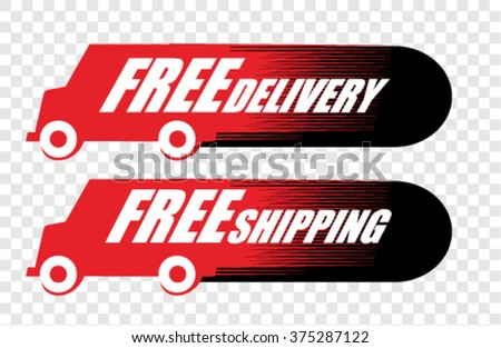 Free Delivery, icon vector