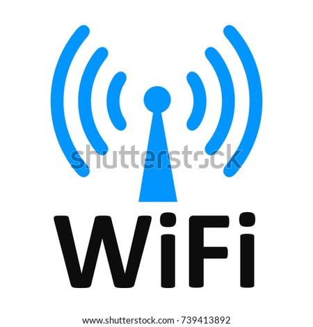 free wifi logo zone vector illustration stock vector 2018 rh shutterstock com free wifi login page free wifi login account info