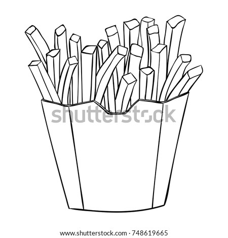 Fries Drawing