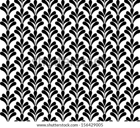 French Ornament Seamless Pattern Stock Vector 156429005