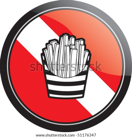 frenchfries - stock vector