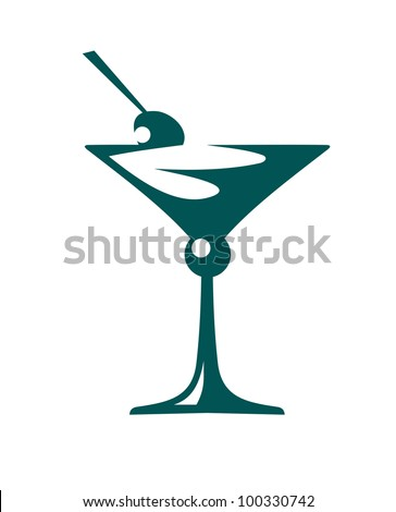 Fresh cocktail, such logo. Jpeg version also available in gallery - stock vector