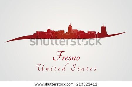 Fresno City Bookstore Map