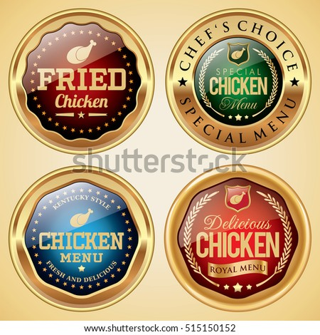 Fried Chicken badges