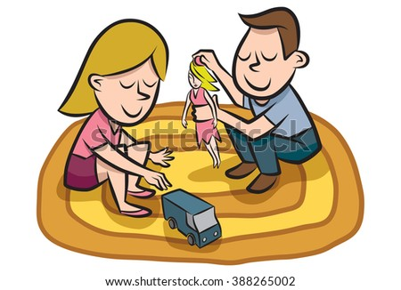 gender roles stock images  royalty free images   vectors Unbalanced Scales of Justice Unbalanced Scale Cartoon