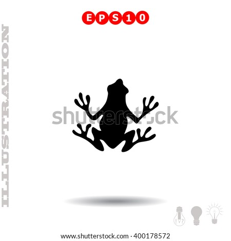 Frog Icon. Frog Icon Vector. Frog Icon Object. Frog Icon Picture. Frog Icon Image. Frog Icon JPG. Frog Icon JPEG. Frog Icon EPS. Frog Icon Drawing. Frog Icon Graphic. Frog Icon AI. - stock vector
